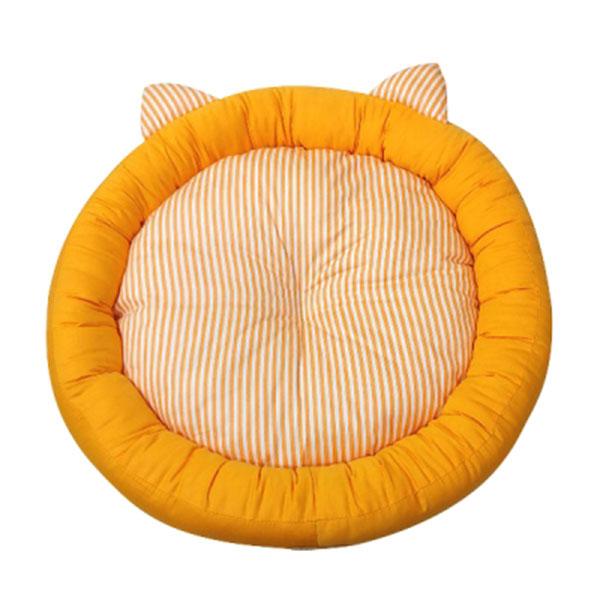 페라가토 원형 깨비 방석 오렌지