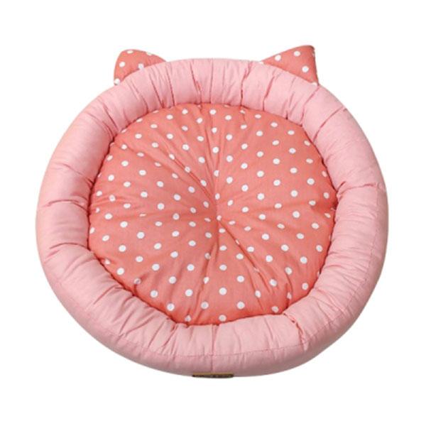 페라가토 원형 깨비 방석 핑크