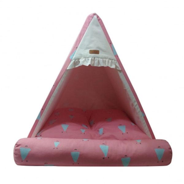 페라가토 코튼 삼각하우스 핑크