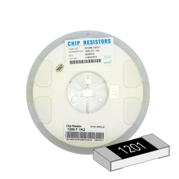 SMD 칩저항 1206(3216) 1/4W 1%(F급) 1.2K옴 1릴(5,000개)