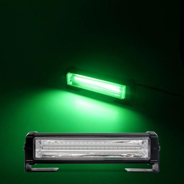 12-24V겸용 COB면발광 LED바라이트 1구 그린