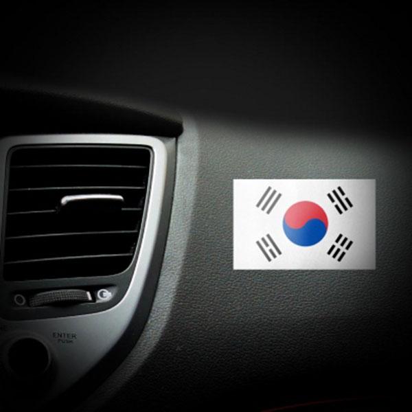태극기 스티커 사이즈별 (대)12개 1세트