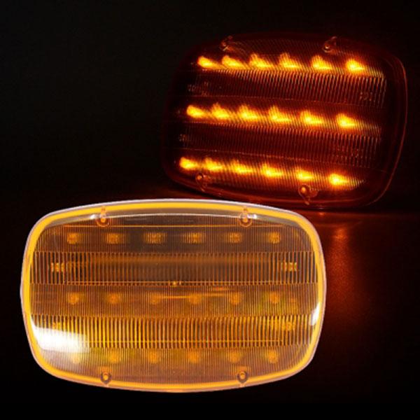 비상 자석 LED경광등 옐로우LED AAA