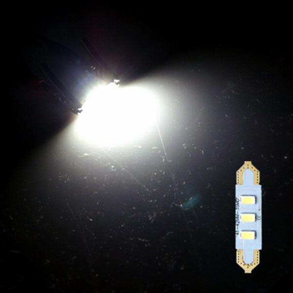 41MM타입 12V 기판형 실내등 LED전구