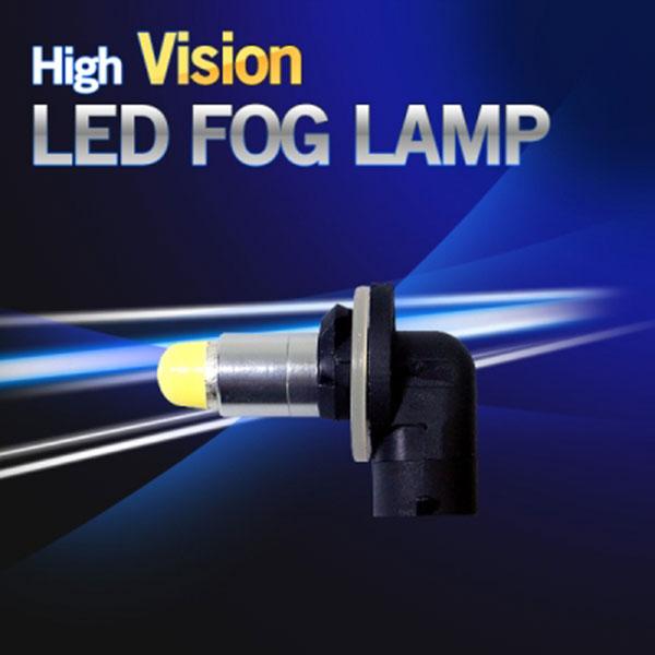 12V-24V 겸용 하이비젼 880/881 LED안개등 1개