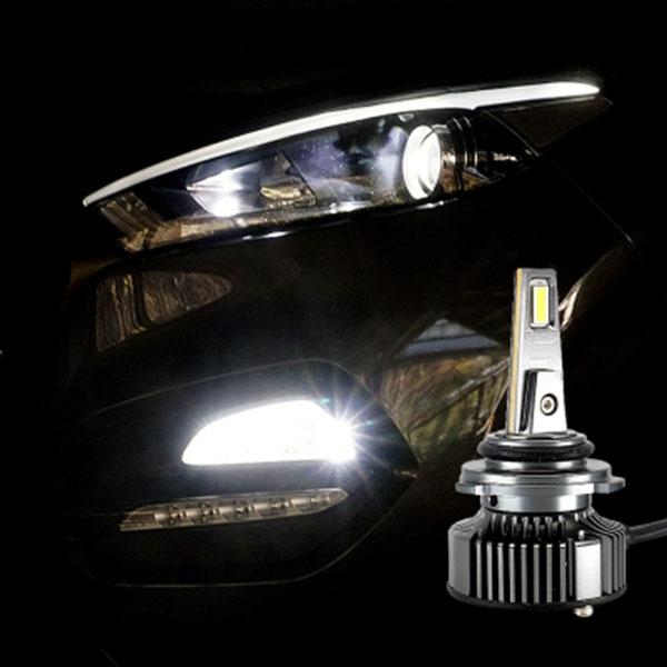 12V-24V겸용 LED전조등 LED안개등 9006타입 엠프로빔V13 2개 1세트