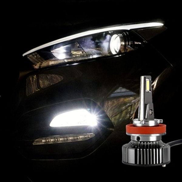 12V-24V겸용 LED전조등 LED안개등 H8 H11겸용타입 엠프로빔V13 2개 1세트
