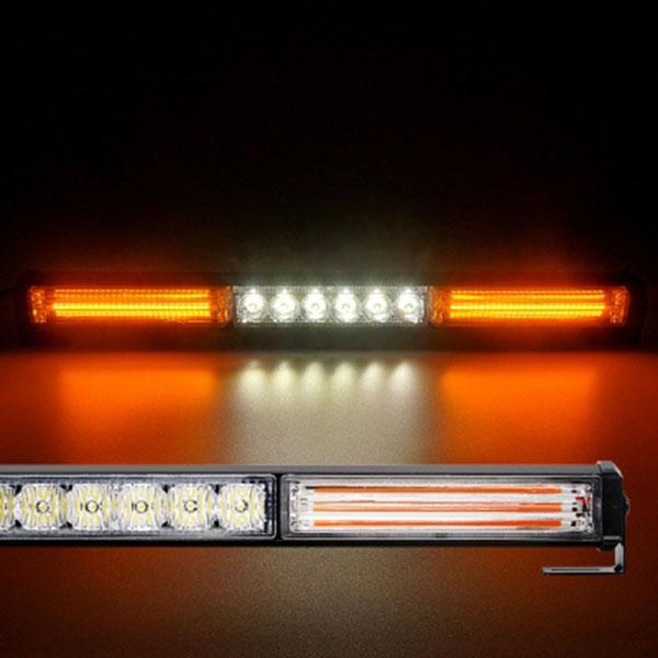 12-24V NEW LED바라이트 3구 NO.3200 옐로우-화이트-옐로우LED