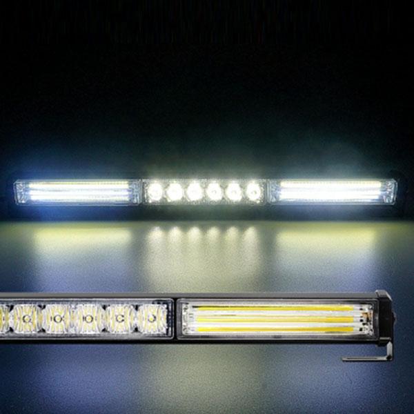 12-24V NEW LED바라이트 3구 NO.3200 화이트-화이트-화이트LED