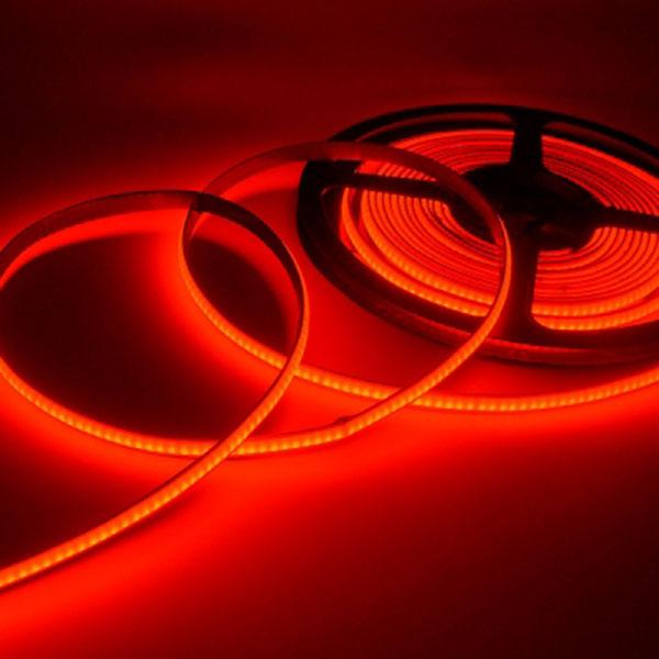 12V용 COB 슬림 면발광 LED바 레드LED 10cm당