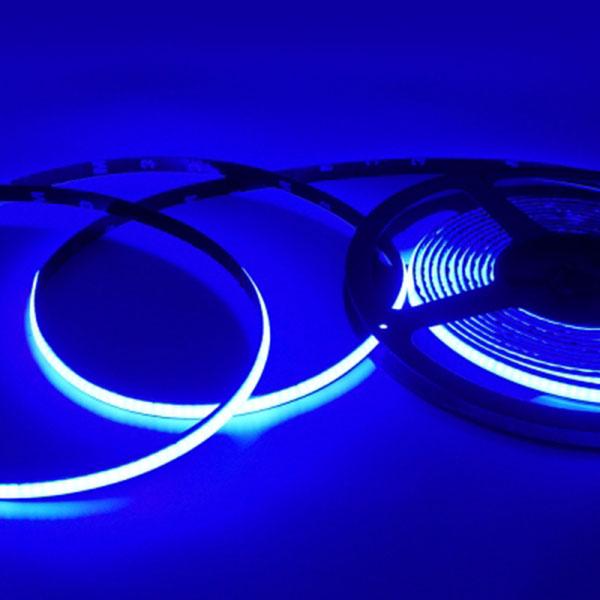 12V용 COB 슬림 면발광 LED바 블루LED 10cm당