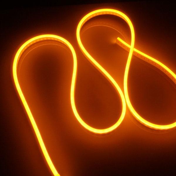 12V용 실리콘면발광V3 LED바 옐로우LED 10cm당
