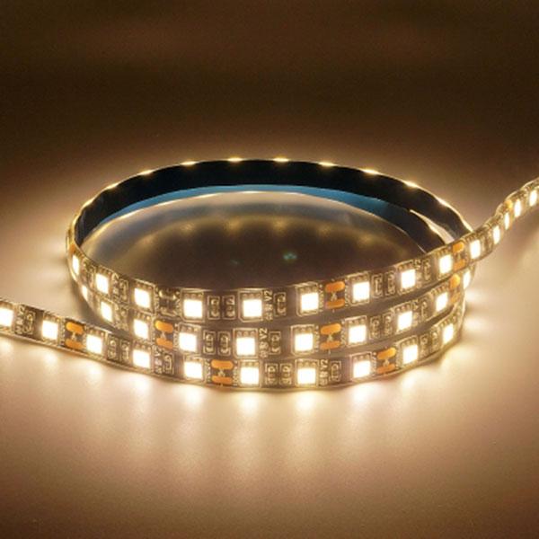 12V용 고급형 밝기향상 5050 3칩 LED바 웜화이트LED -5M 롤