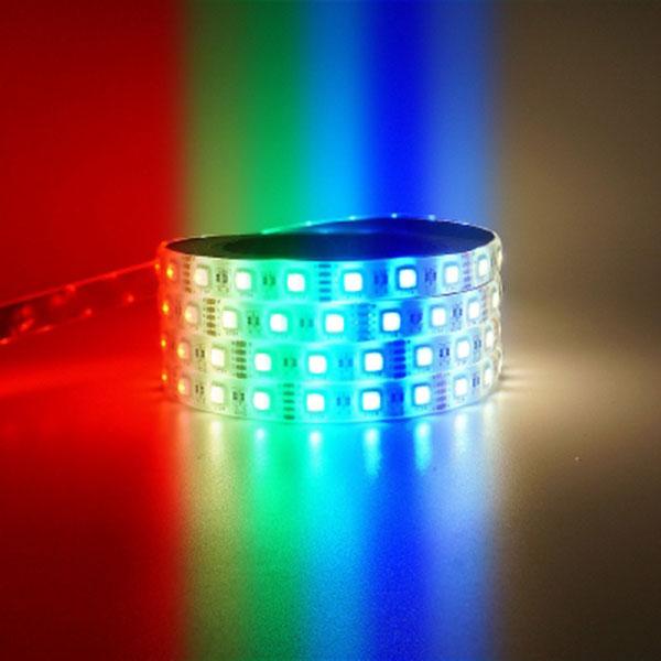 길이를 원하는대로 12V용 RGBW 5선 LED바 10cm당 가격