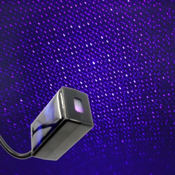 천장에 별빛이 내린다 갤럭시 레이저 자동변환 LED무드등 블루 USB타입/스위치내장/조명