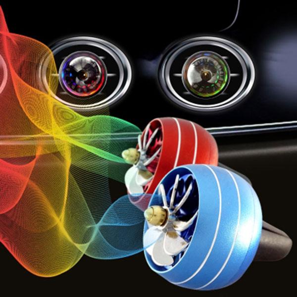 LED 원형 프로펠러 송풍구 액세서리 자동차량용