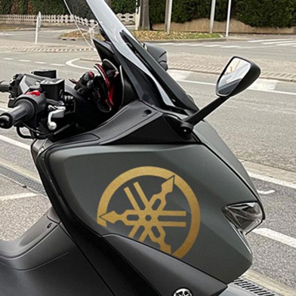 T-MAX 스티커 (2개 1세트) / 바이크 오토바이용 데칼 반사스티커