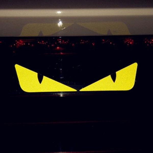 CAT EYE 냥이눈 스티커 (좌우 1세트) / 차량 데칼 반사스티커