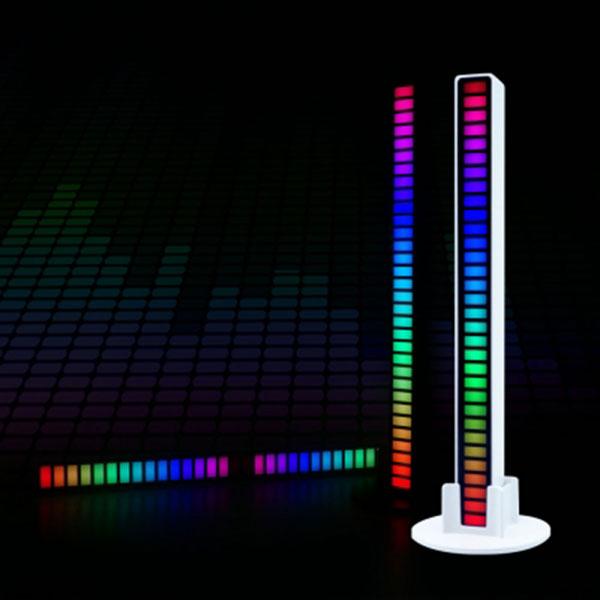 5V RGB 이퀄라이저 LED 스틱바 / 소리반응 댄싱 LED 무드등