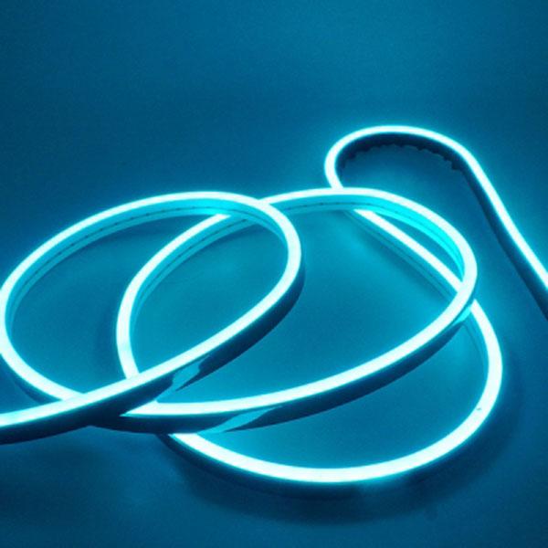 길이를 원하는대로 DC5V용 실리콘면발광V3 LED바 아이스블루LED 10cm당 가격