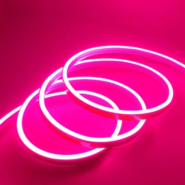길이를 원하는대로 DC5V용 실리콘면발광V3 LED바 핑크LED 10cm당 가격