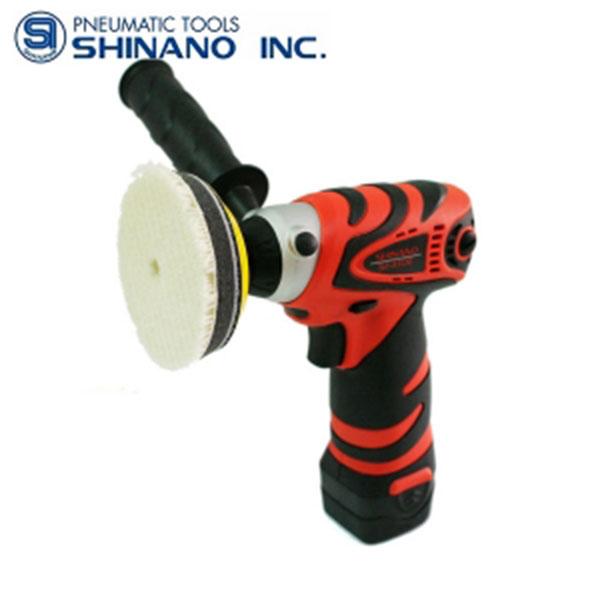 시나노 충전폴리셔 SI-410E 3인치 10.8V-1.3Ah#1pack