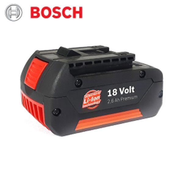 BOSCH 리튬이온배터리 18V-2.6Ah