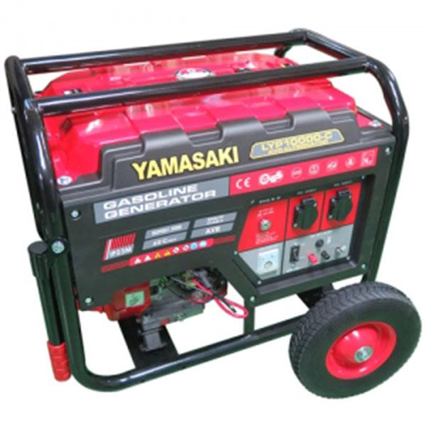 YAMASAKI 발전기 LYP10000-C 8.7kVA 4행정 화물착불