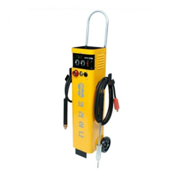 코리아나 판금용스포트용접기 SPOT-2500세트 화물착불