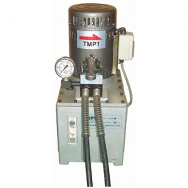 대진유압 유압전동펌프 TMP-1/2M외 매뉴얼타입-단/복동 화물착불