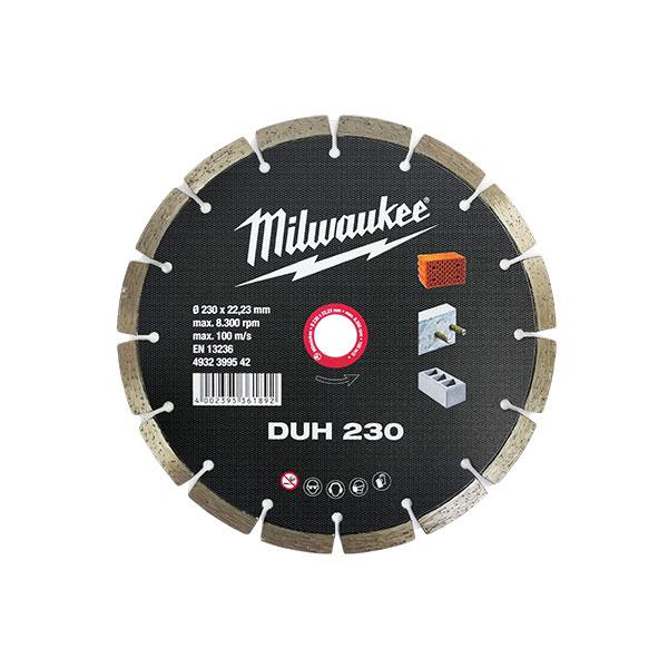 """밀워키 다이아몬드 블레이드 콘크리트용 9""""x22.2mm"""