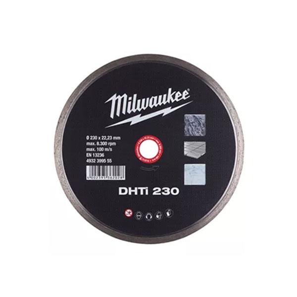 """밀워키 다이아몬드 블레이드 대리석&타일용 9""""x22.2mm"""