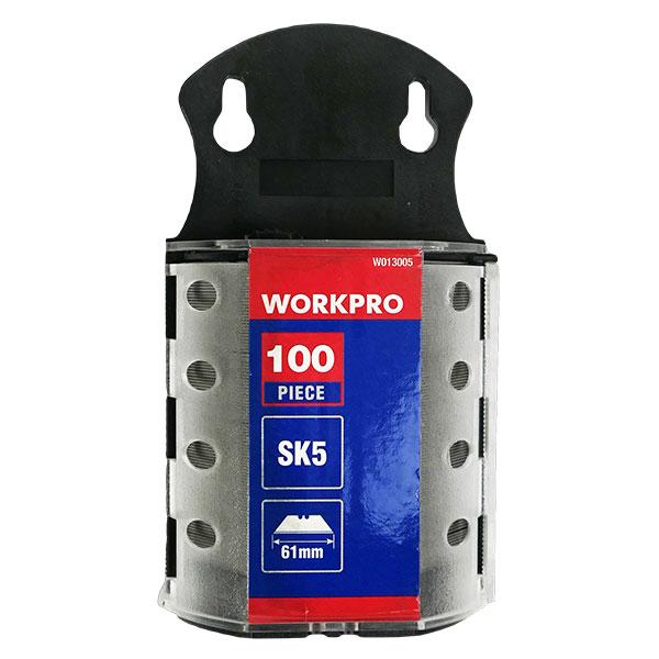 워크프로 다용도칼날 W013005 18mm 100pcs