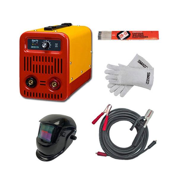 SAFE 인버터아크용접기 세이프170 SET+자동용접면