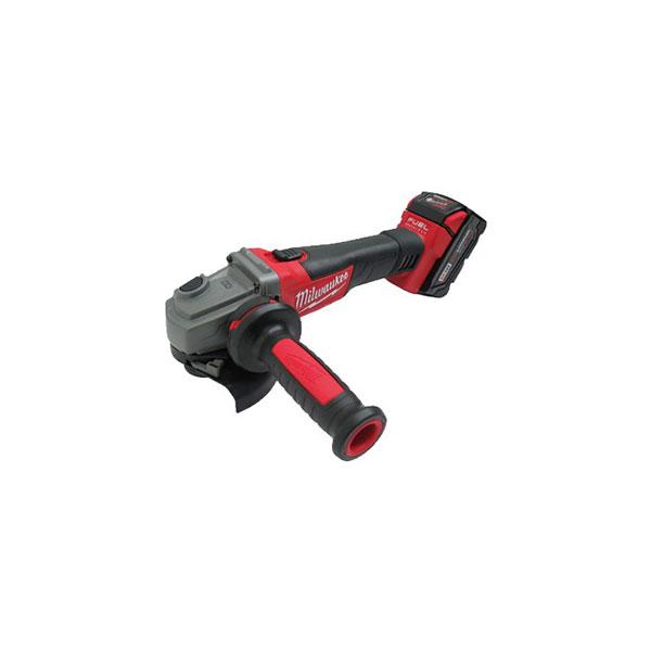 밀워키 브러쉬리스충전그라인더 M18 CAG125X-502X 18V-5.0Ah 2pack