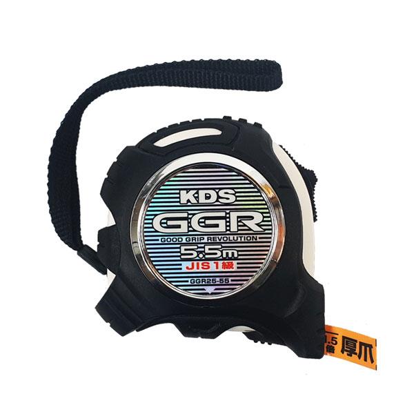 KDS 양면줄자 고무그립 GGR25