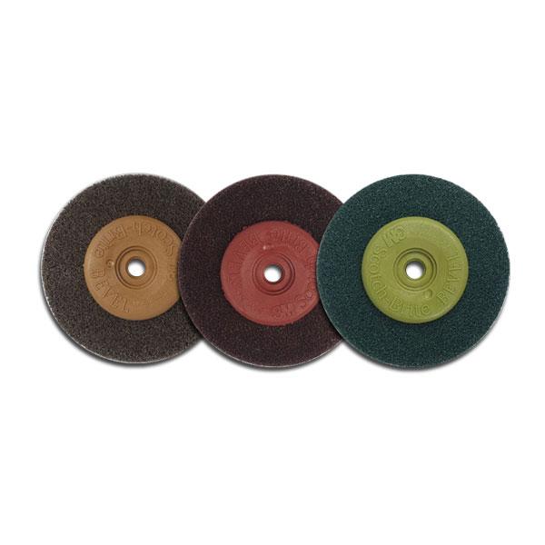 3M 베벨디스크 BROWN/RED/GREEN 5pcs