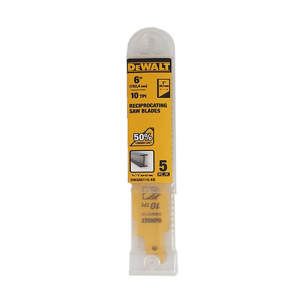 디월트 터프 컷소날 철재용DWAR6110 5PCS