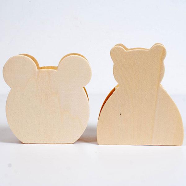 2000나무저금통 곰돌이,곰얼굴