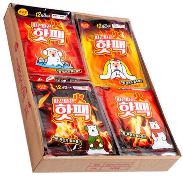 500따끈따끈핫팩 24개묶음판매