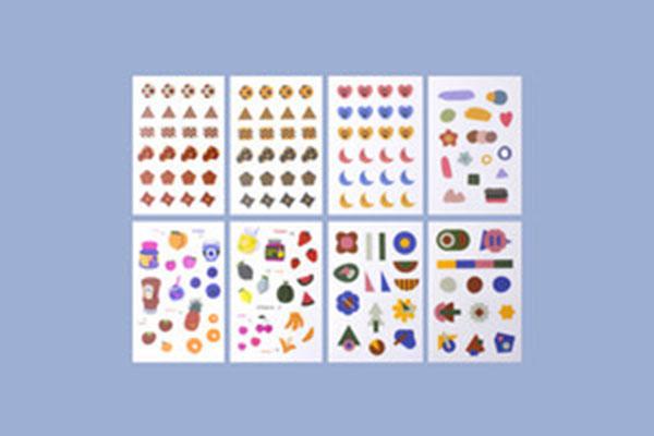 루카랩 My retro sticker_pet_LS-200