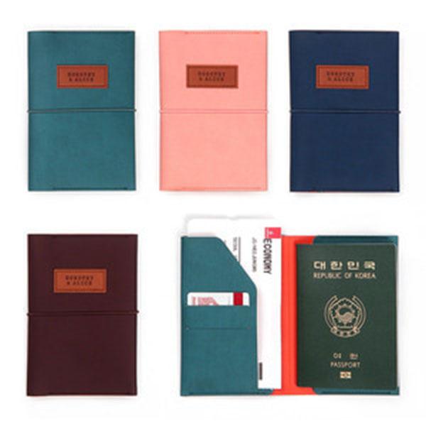 미니버스 트래블러스 여권케이스