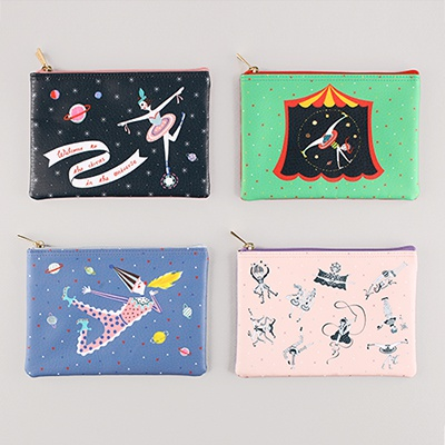 CIRCUS IN THE UNIVERSE - daily pouch