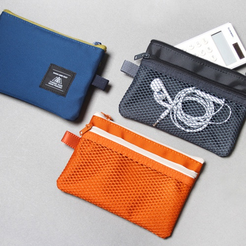 double mesh pouch S