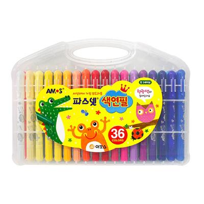 36색 파스넷색연필
