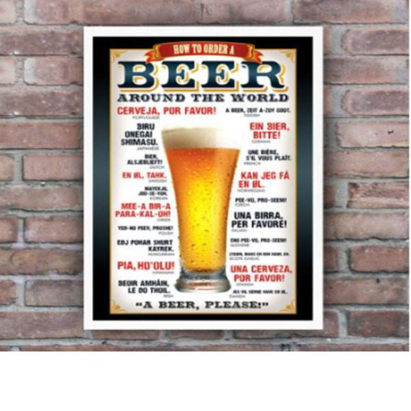 Beer How to Order 포스터 (GN0543)