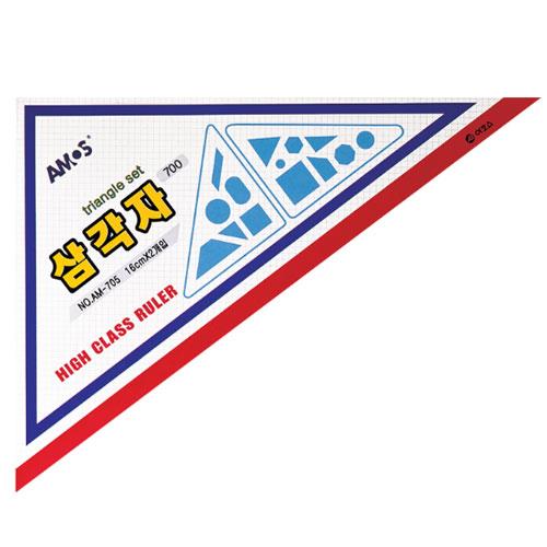 16CM 삼각자 AM-705