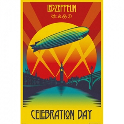 Led Zeppelin Celebration Day 포스터(LP1906)