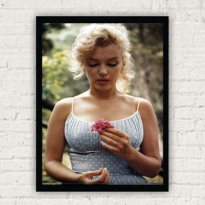 마를린먼로 플라워 포스터 FP3891