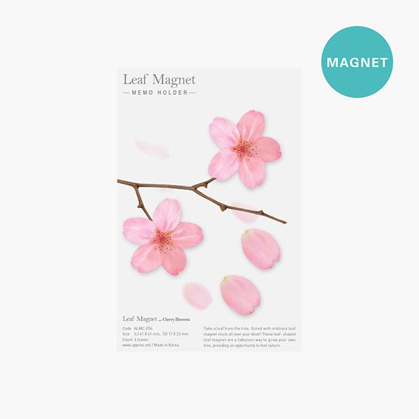 리프마그넷_벚꽃 4p 한세트
